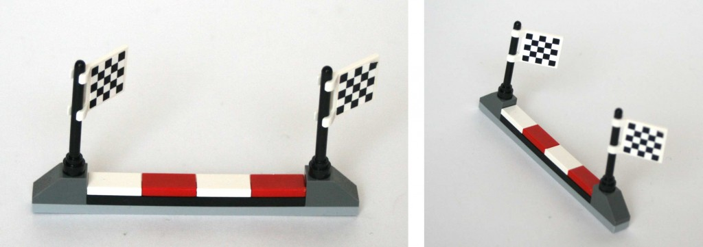 Ligne d'arrivée Lego Cars 2