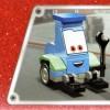 Vue de dessus du packaging du Lego 8206 - Guido et Luigi Tokyo Pit Stop (Cars 2)