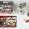 Contenu de la boite Lego 8206 (Cars 2)
