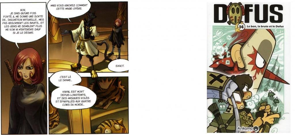 Le destin tragique de Karail et Razad est raconté dans les tomes 14 à 16 du manga de Dofus.