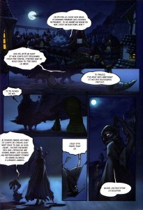 Page 1 du Comics Remington N°5