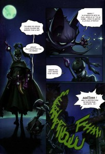 Page 2 du Comics Remington N°5