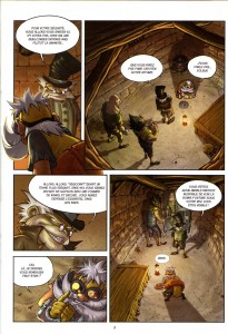 Page 3 du comics de Remington n°6 (Wakfu)