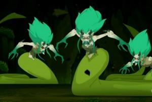 Les bellaphones se transforment en monstre (Wakfu)