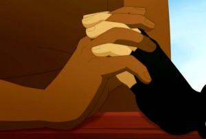 Evangelyne pardonne à Tristepin