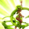 La présentation des personnages à travers leurs coups spéciaux est typiquement Sentai