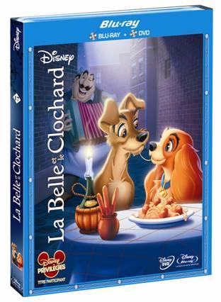 Coffret Blu-ray La Belle et le Clochard