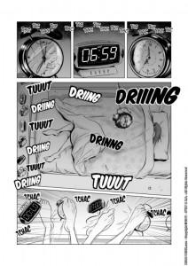 Page 1 du manga Head-Trick