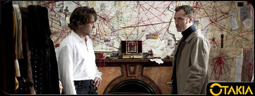 Header Otakia : Sherlock Holmes, jeu d'ombres