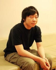 Photographie de Kunio Kato, auteur de la maison en cubes