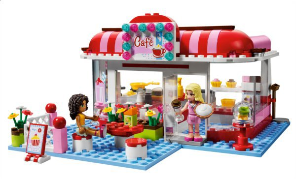 Lego Friends : le Café