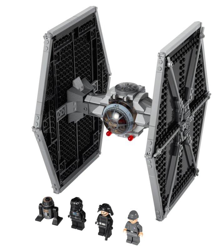 Lego Tie Fighter avec des troopers impériaux