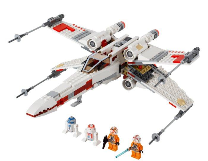 nouveaux lego stars wars lego combat spatial avec les x wing et le tie fighter. Black Bedroom Furniture Sets. Home Design Ideas