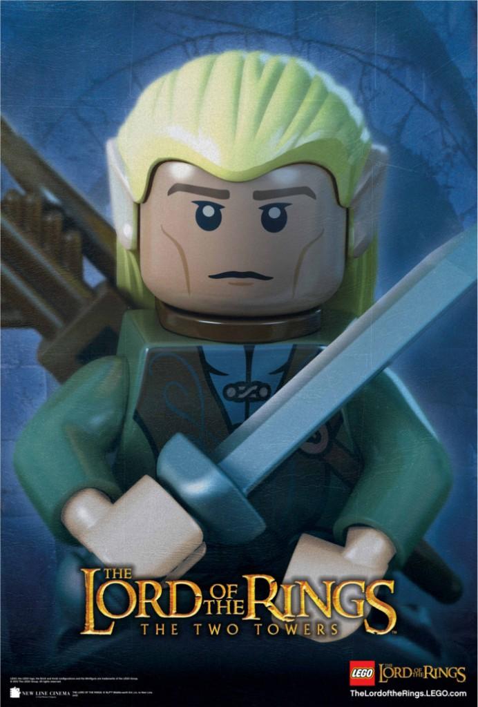 Legolas en mode Lego (Seigneur des anneaux)