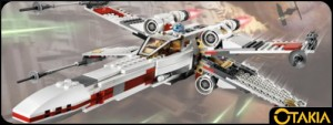 Header Otakia Lego Star Wars : X Wing et Tie Fighter