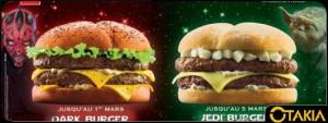 Menu Star Wars Quick