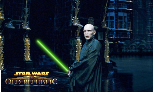 Image de Star Wars : The Old Republic. Oui, il y a bien Voldemort !!