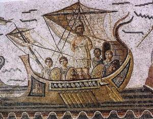 Ulysse attaché au mât du navire