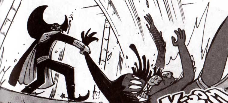 Armand-Louis affronte Ombrage (Dofus tome 10)