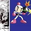 Le personnage invoqué à la dernière case est inspiré de Bomberman