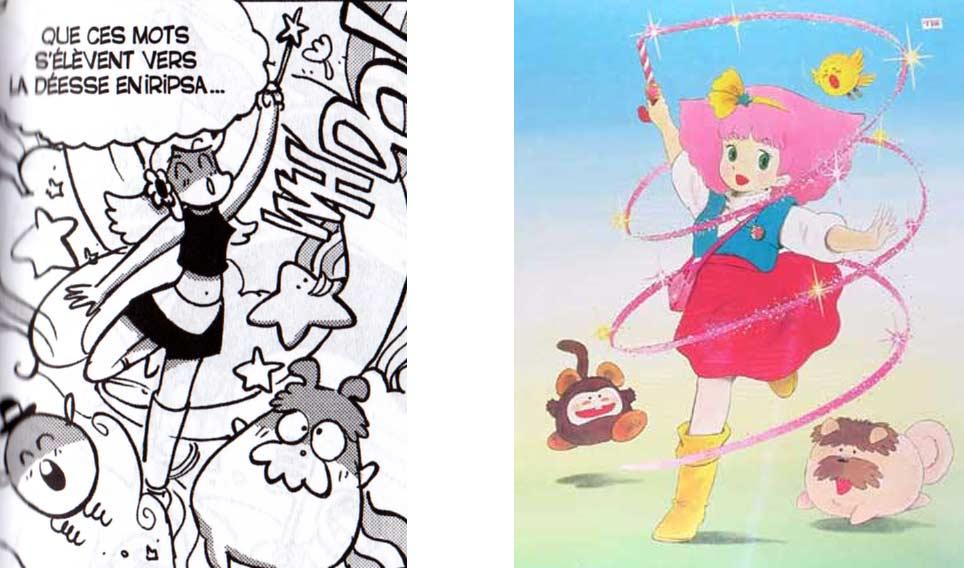les deux animaux qui sont à côté de Lily sont le chien (Sindbook) et l'oiseau (Pipil) les compagnons de Gigi