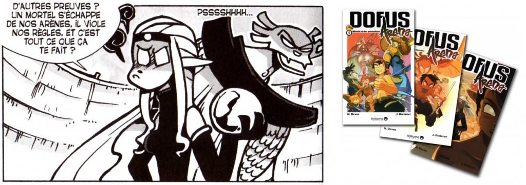 La Démone de Minuit que l'on voit apparaître est un personnage tirée de Dofus Arena.