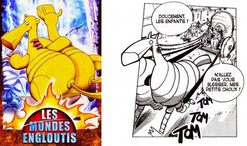 cet animal est inspiré de Bic et Bac tirés de la série Les Mondes Engloutis