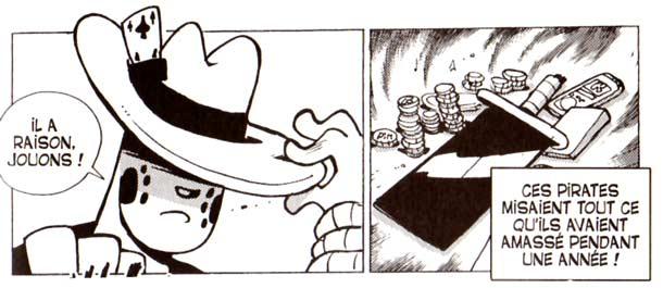 Pour se faire de l'argent, Dodge mise son épée