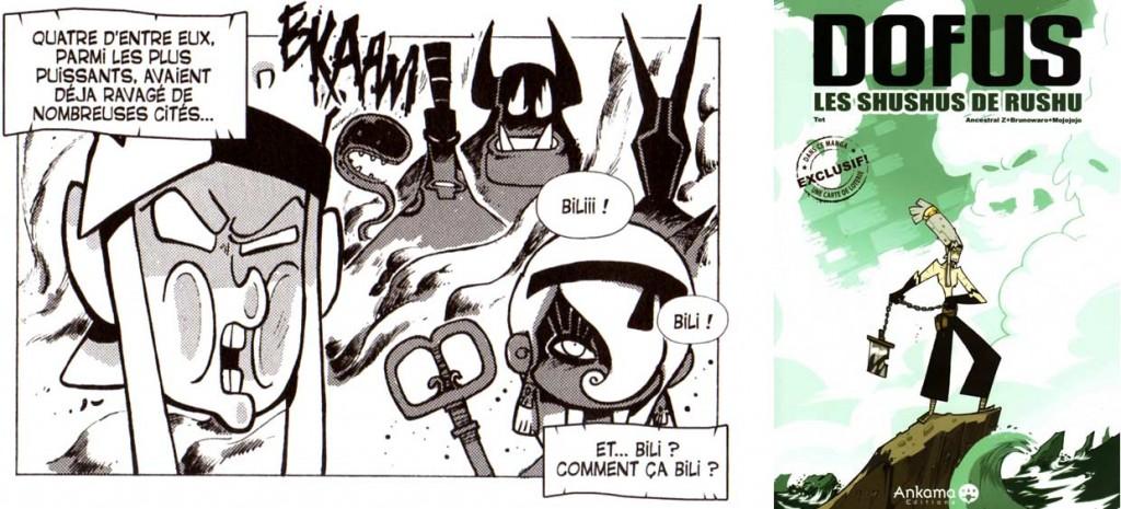 Les personnage évoqués par Goultard sont rencontrés dans le hors série Les Shushus de Rushu