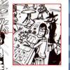 A la table de jeu on peut reconnaître les personnages de Edgar (Lupin), Isidor (Jigen) et Goemon Yokitori