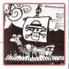 on peut reconnaître le Going Merry, qui fut le premier bateau de Luffy dans One Piece