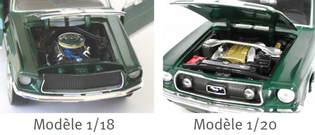 Le fabriquant a aussi produit une miniature au 1/24ème dont le moteur est bien celui de la Nissan