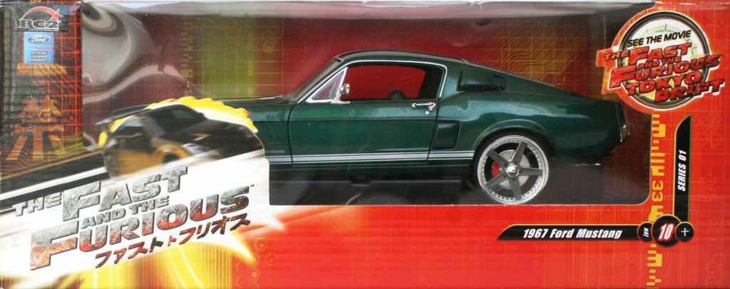 Packaging : Fast & Furious 3 - Ford Mustang - ech 1/18 (ERTL)