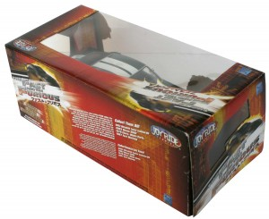 Dos du Packaging : Fast & Furious 3 - Ford Mustang - ech 1/18 (ERTL)