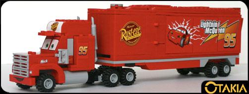Lego 8486 mack flash mcqueen cars lego 8486 mack - Flash mcqueen et mack ...