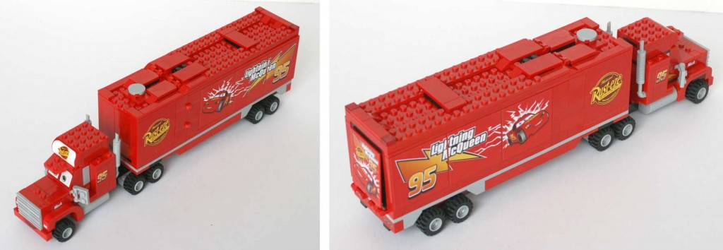 Lego 8486 : Mack & Flash Mc Queen (Cars)