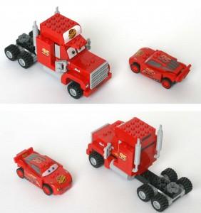 Lego 8486 : Mack sans remorque (Cars)