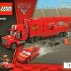 Plan de montage Lego 8486 - plan 1 : Flash McQueen