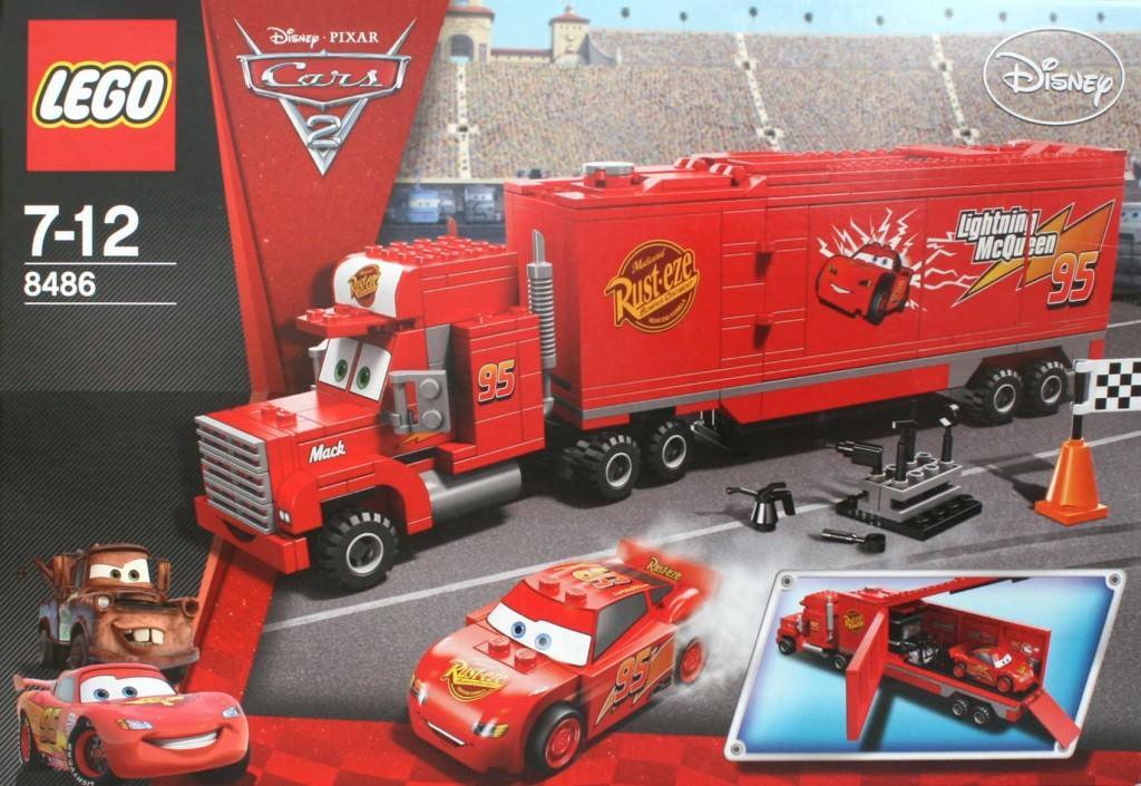 Lego 8486 : Mack & Flash McQueen (Cars)