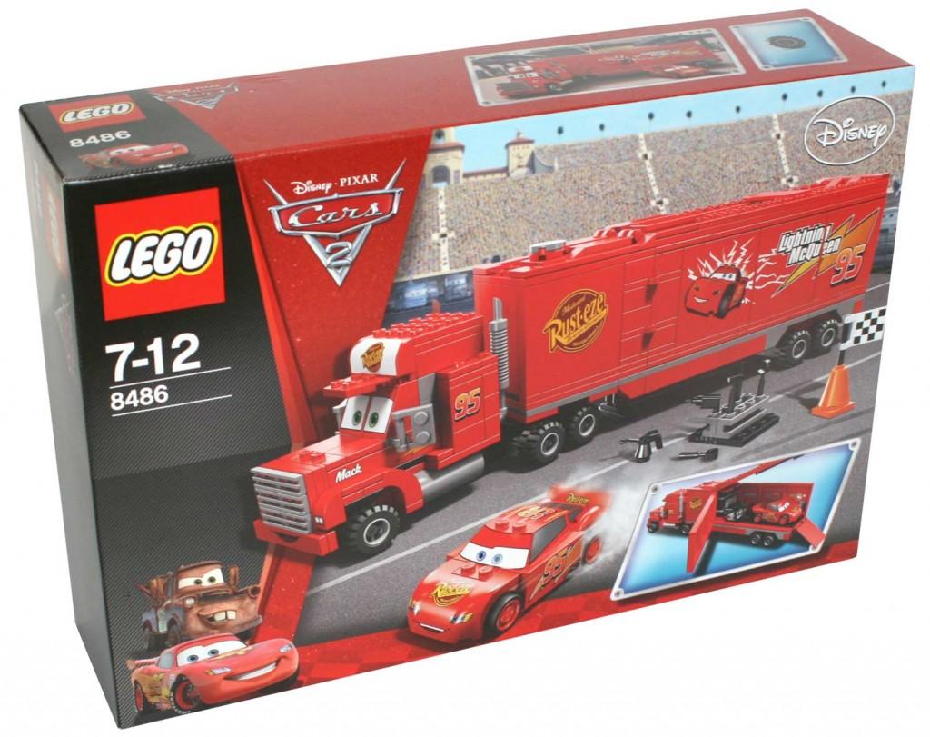 Packaging Lego 8486 : Mack & Flash Mc Queen (Cars)