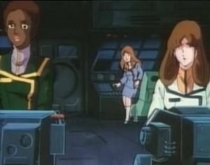 La passerelle du SDF-1 ne contenait que des femmes à part le capitaine (Robotech)