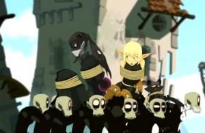 Grâce à Ombrage, Rubilax a créé une armée de Goules