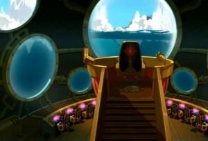 La passerelle du sous-marin (Wakfu)