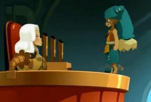 Yugo discute avec le prince Adal