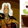 On peut voir Kerubim sur la tasse du prince Adale