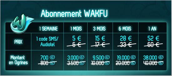 Offre de lancement du MMO Wakfu