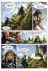 Page 2 du comics Maskemane N°4