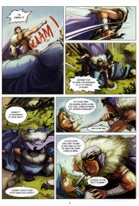 Page 3 du comics Maskemane N°4