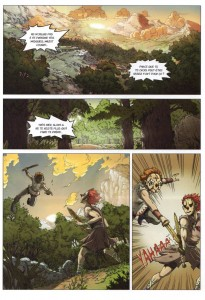 Page 1 du Comics Maskemane N°5