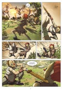 Page 2 du Comics Maskemane N°5